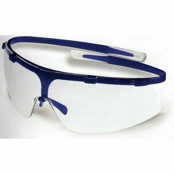 Super G Uvex szemüveg csúszás biztos, könnyű (18g) kék Grilamid