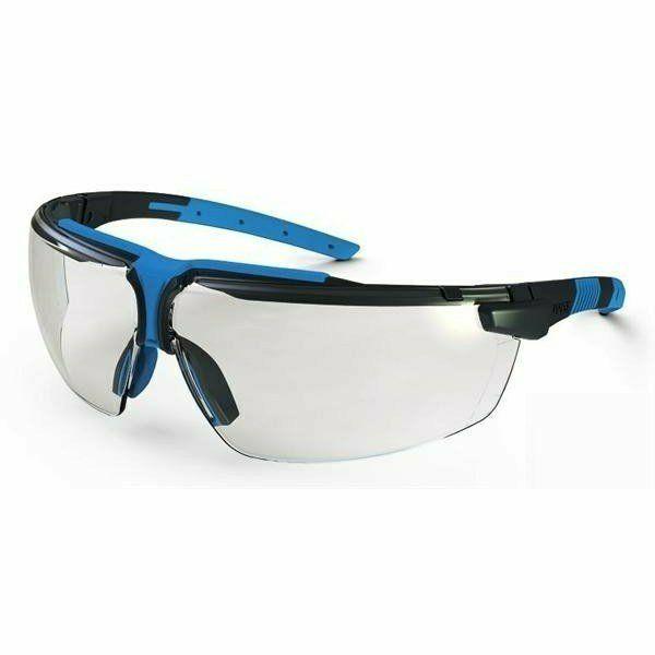 Uvex  I3 szemüveg szürke/kék keret, állítható oldal és szárszög