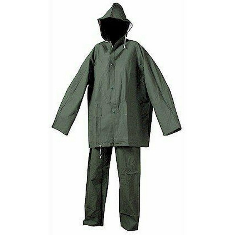 Vízálló esőruha öltöny pvc legolcsóbb, derekas nadrág + kabát