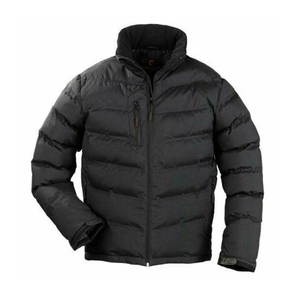 NORSK fekete steppelt vízhatlanított és szélálló kabát