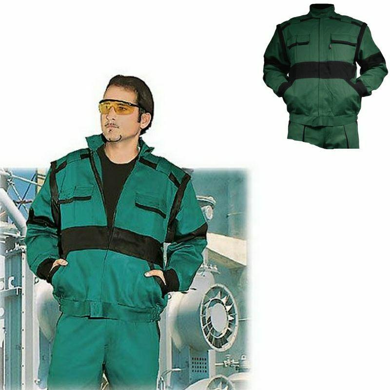 EDA zöld/fekete kabát pamut, mellényé alakítható Zöld/Fekete